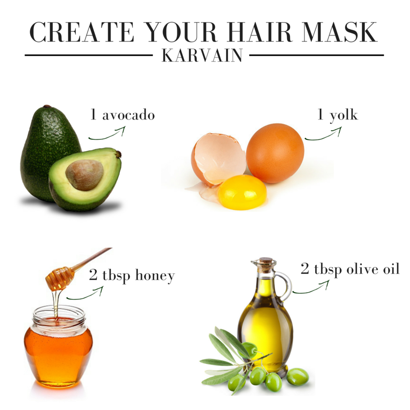 CREATE YOUR HAIR MASK