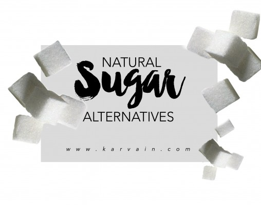 3 NATURAL SUGAR ALTERNATIVES