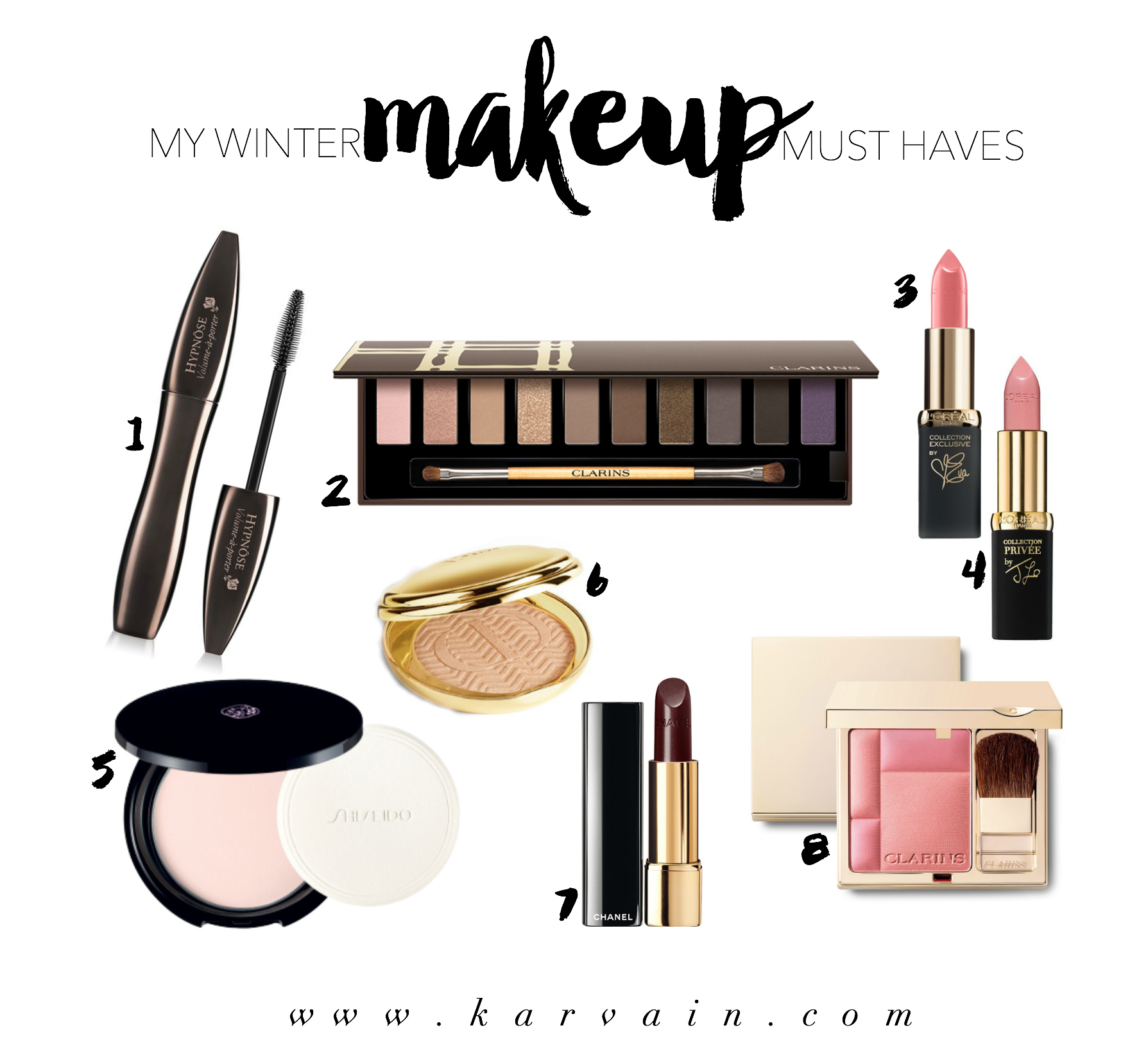 karvain_makeup_musthaves