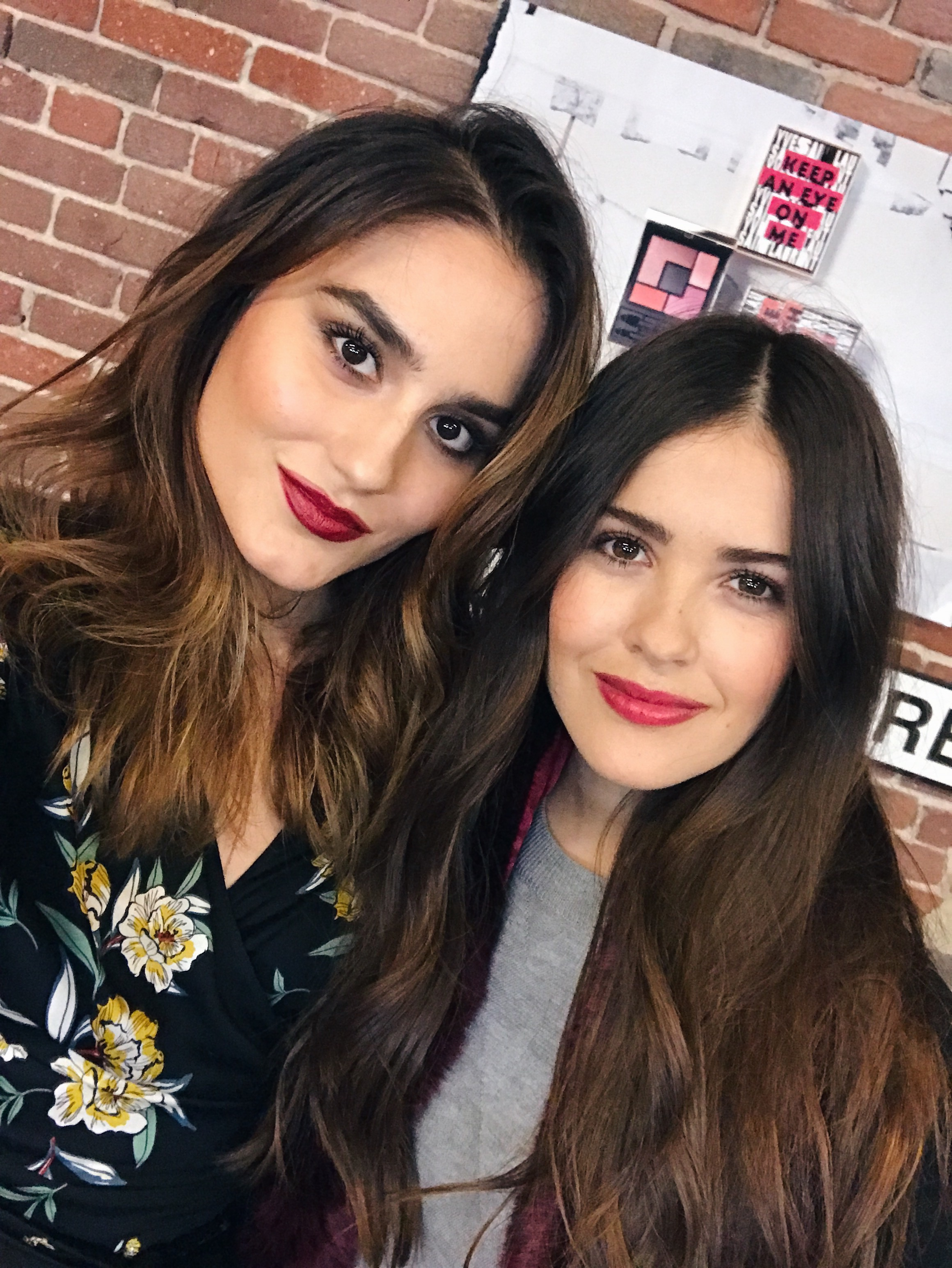With the cutest Paola Alberdi